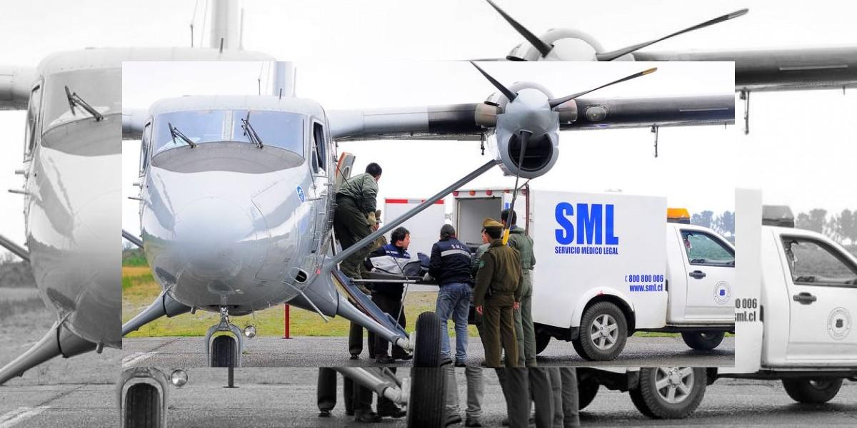 Identifican a una de las ocho víctimas fatales del accidente aéreo de Quellón