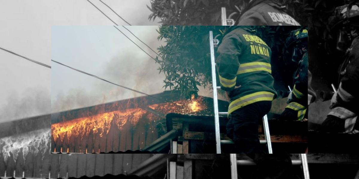 Un anciano con parálisis muere al incendiarse su hogar