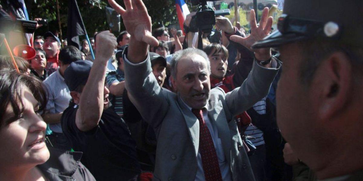 Con estos incidentes partió reunión entre ministro y representantes de Aysén