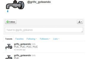 3.- @grifo_goteando: La llave del agua también está en esta lista para recordarte que debes dejarla bien cerrada Foto:Reproducción. Imagen Por: