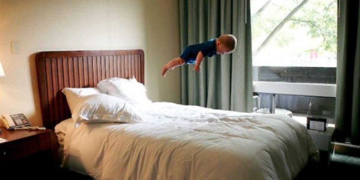 [FOTOS] Bebes voladores