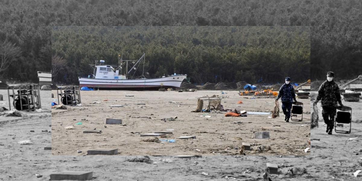 Avistan barco japonés arrastrado por tsunami de 2011 en las costas de Canadá