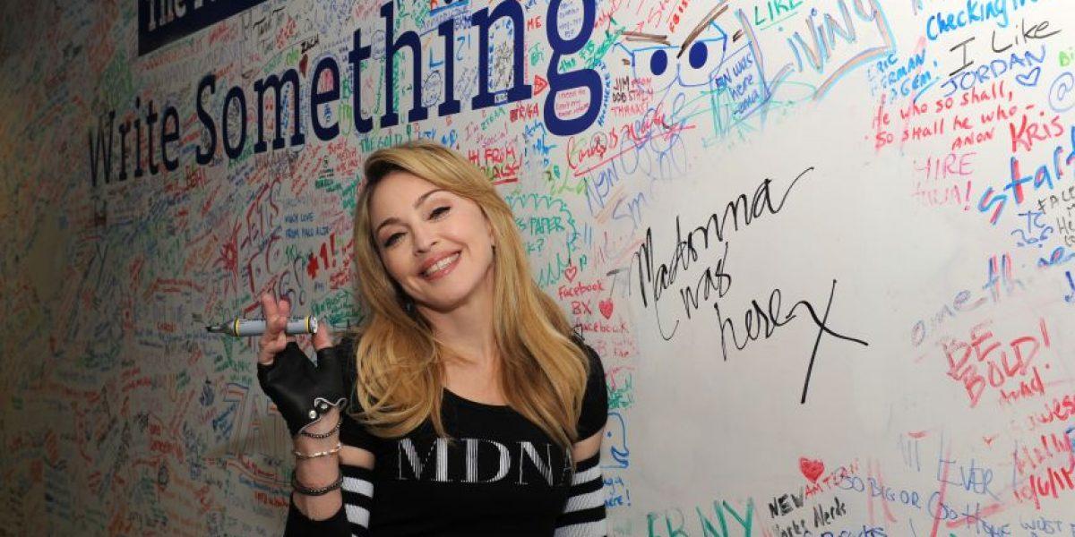 [FOTOS] Madonna y Jimmy Fallon en entrevista por Facebook