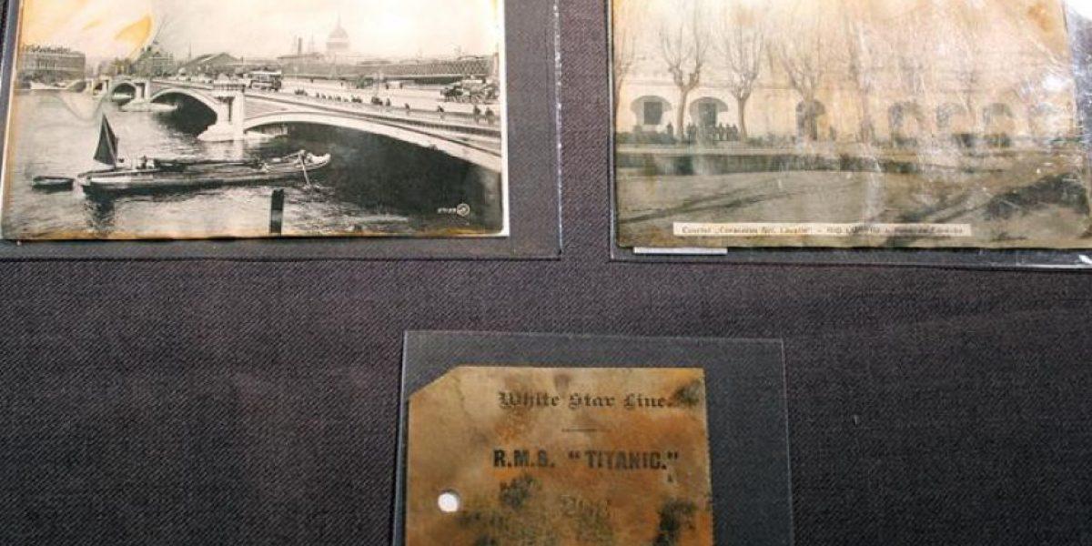[FOTOS] Estos son parte de los objetos que se rematarán del Titanic