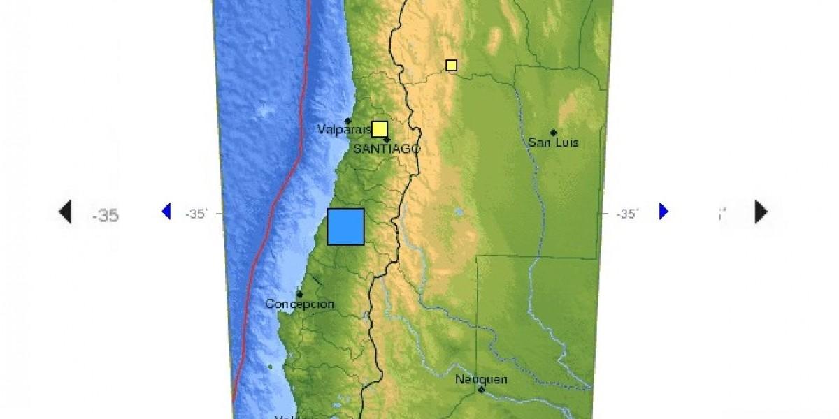 Fuerte sismo de 6.8º afecta a la zona centro-sur del país