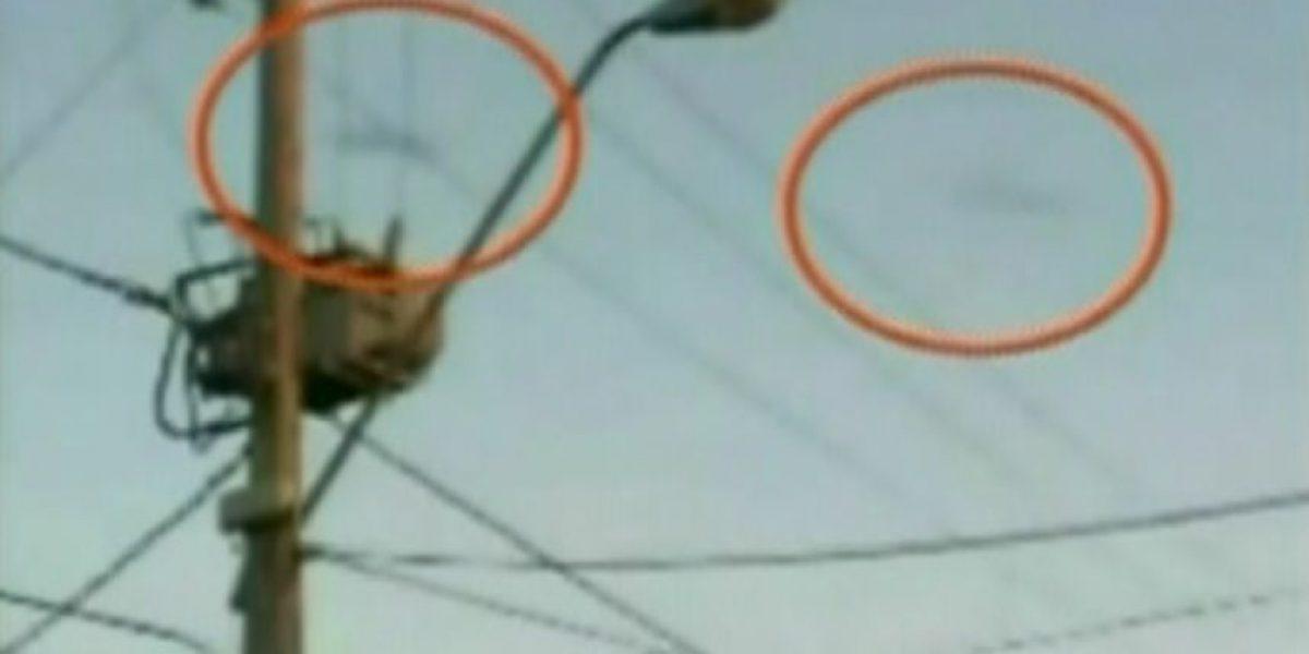 Captan en Puente Alto supuesto ovni en instantes del fuerte sismo del domingo