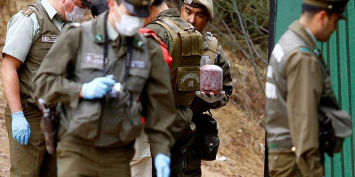 [FOTOS] Pusieron una bomba afuera de Fuerzas Especiales de Carabineros