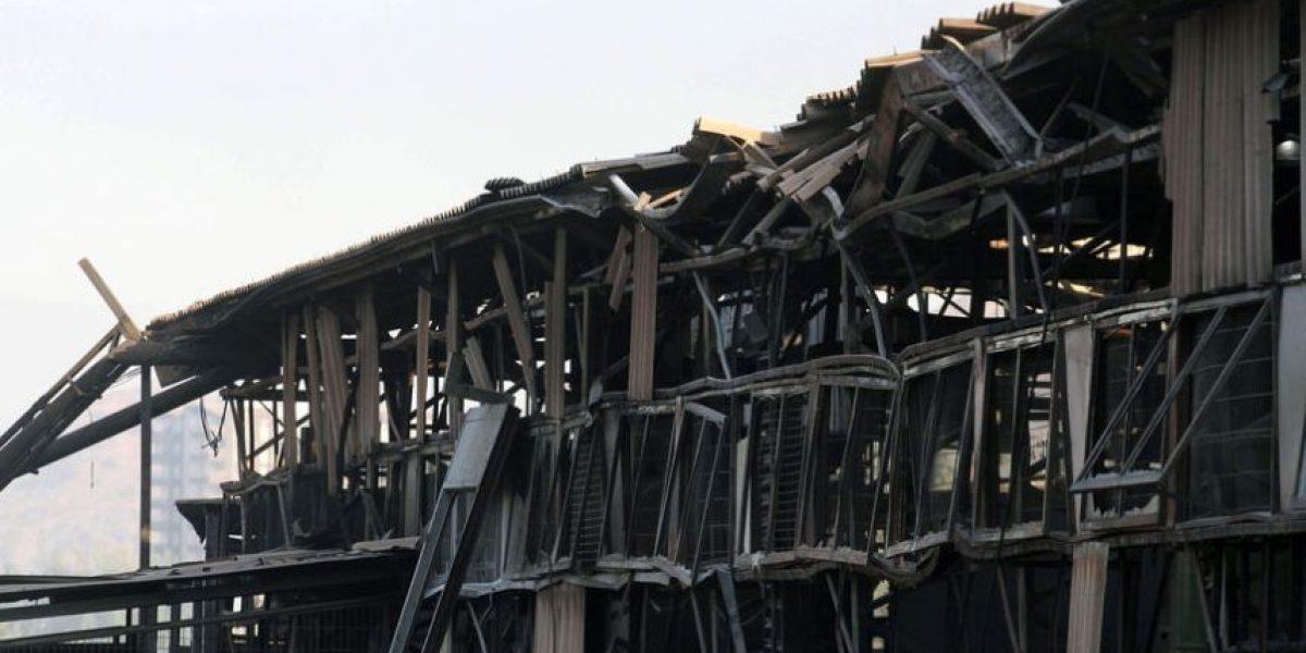 [FOTOS] Así quedó fábrica Wenco tras voraz incendio