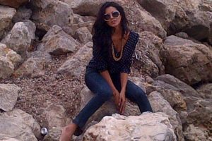 La actual Miss Mundo Ivian Sarcos compartió en Twitter fotografías de su estadía en la playa. Foto:@2011MISSWORLD. Imagen Por: