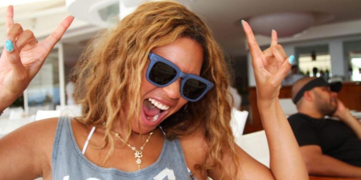 [FOTOS] Beyoncé publica fotos de su vida personal en página web
