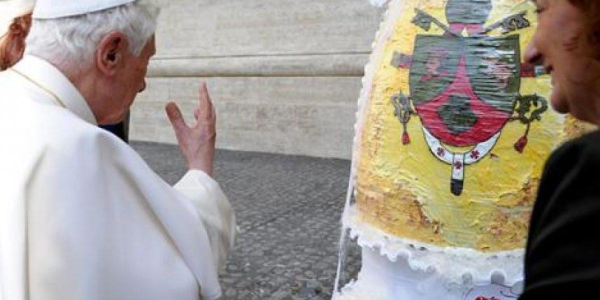 """Este es el """"gran"""" regalo que recibió el Papa Benedicto en Semana Santa"""