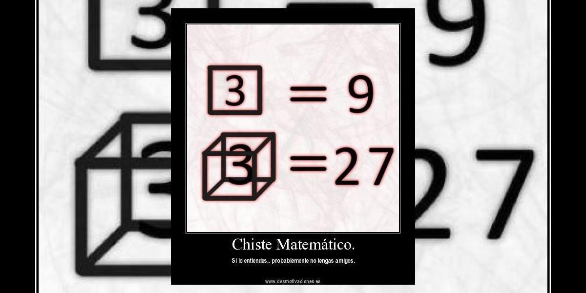 [FOTO] Chiste matemático