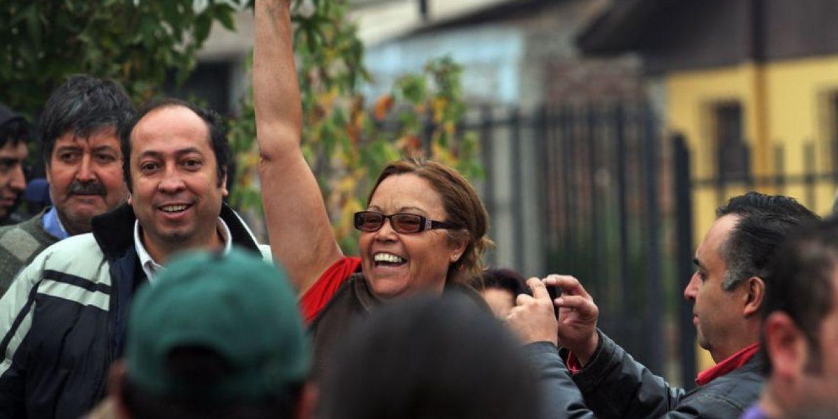 [FOTOS] Así celebran los pobladores de Pelequén el cierre de la planta Colhue