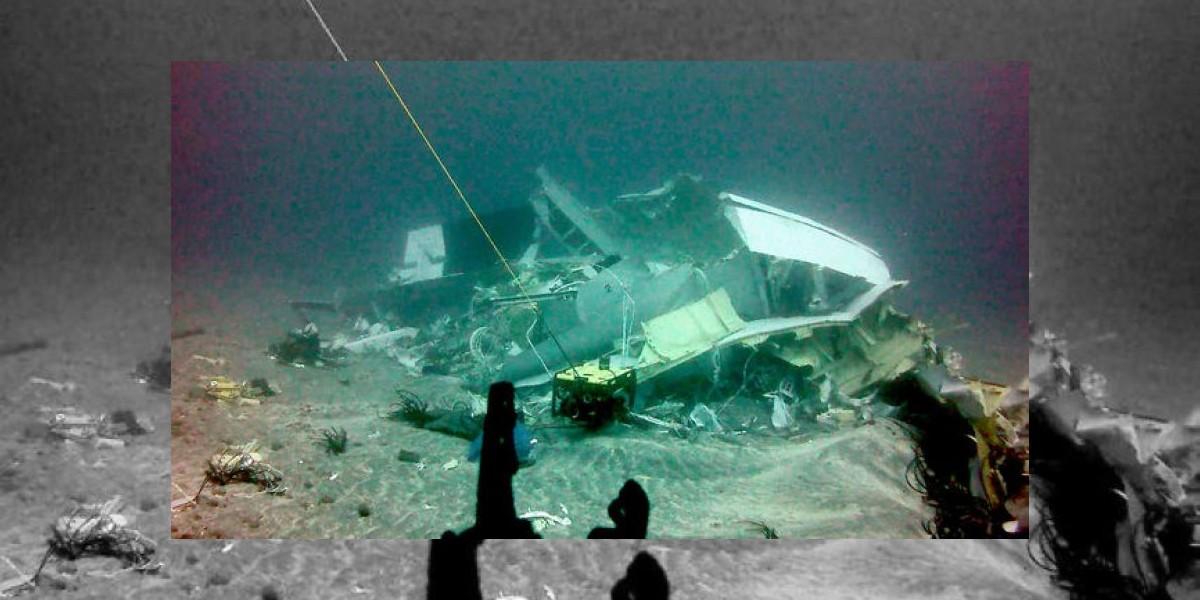 Fach reconoce que avión siniestrado en J. Fernández iba con 165 kilos de sobrepeso