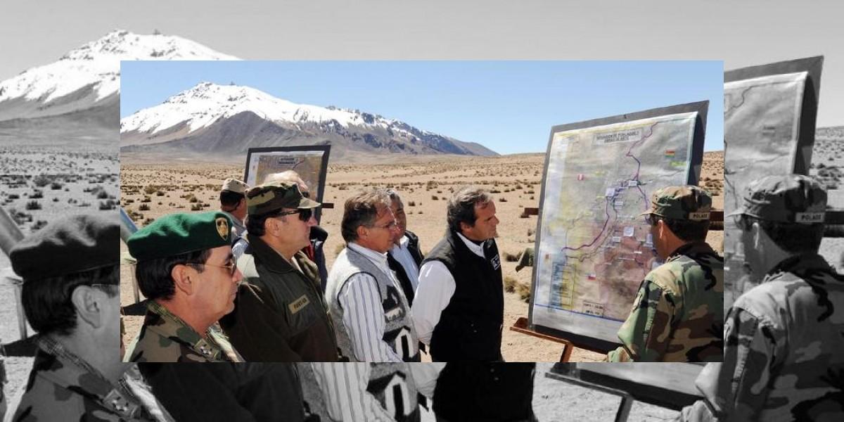 Perú y Chile acuerdan desminado total de frontera común