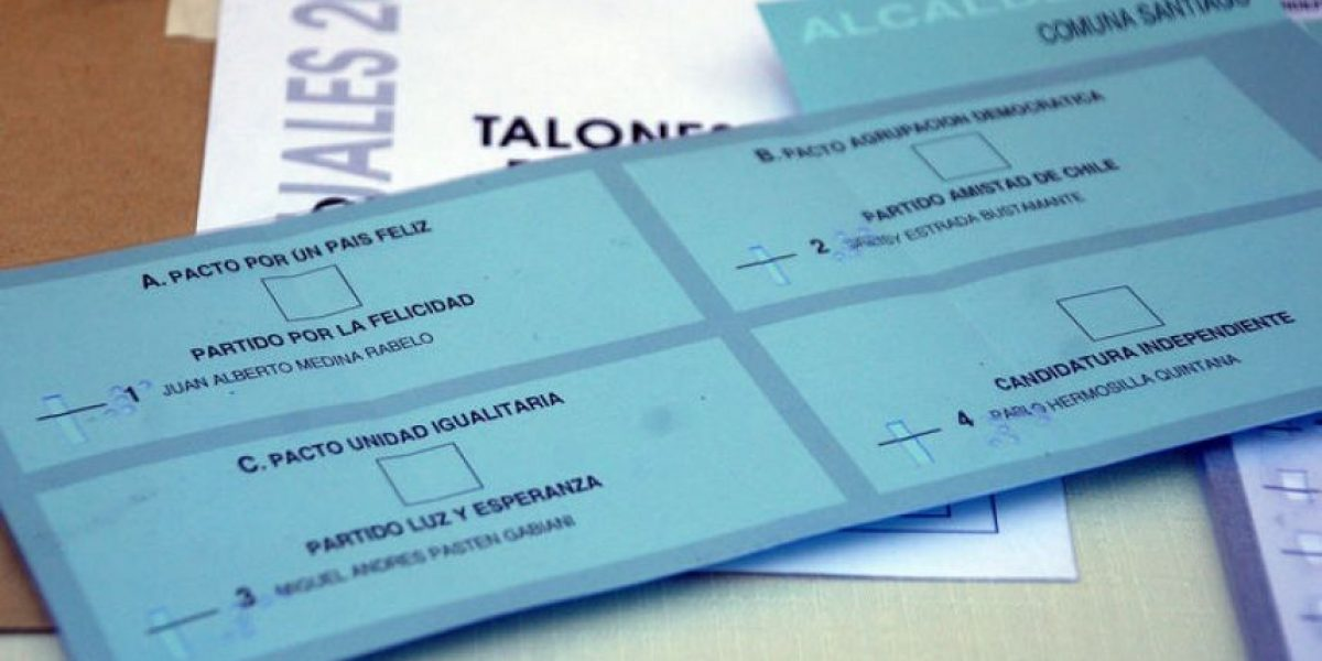 [FOTOS] Gobierno presenta el primer voto con sistema Braille