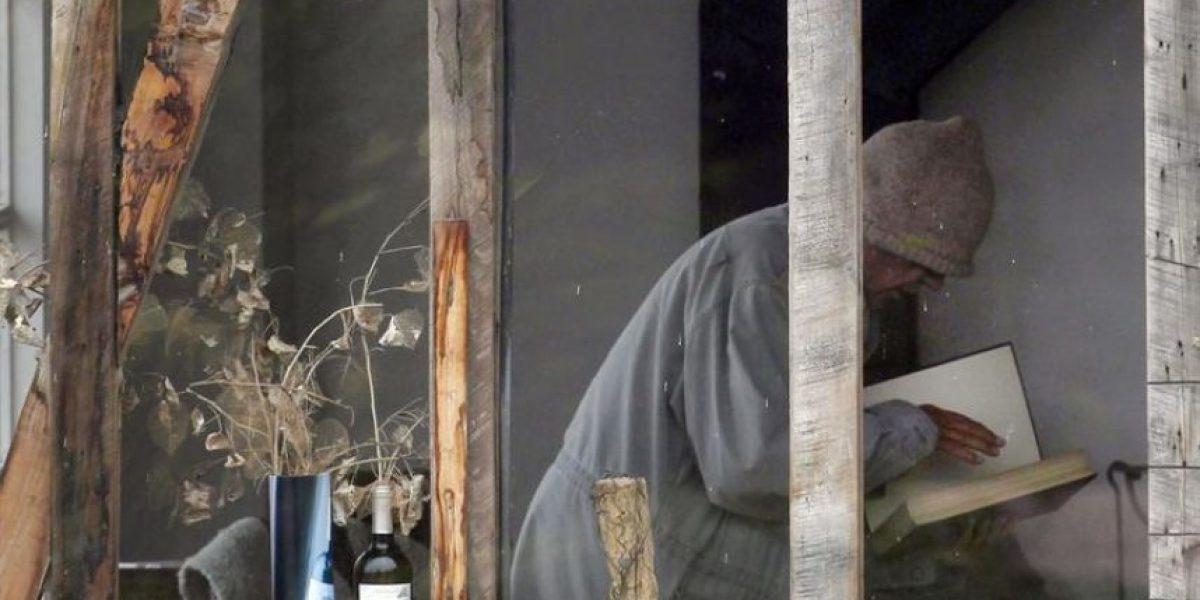 [FOTOS] Captan a Nicanor Parra en Las Cruces tras premiación del Cervantes
