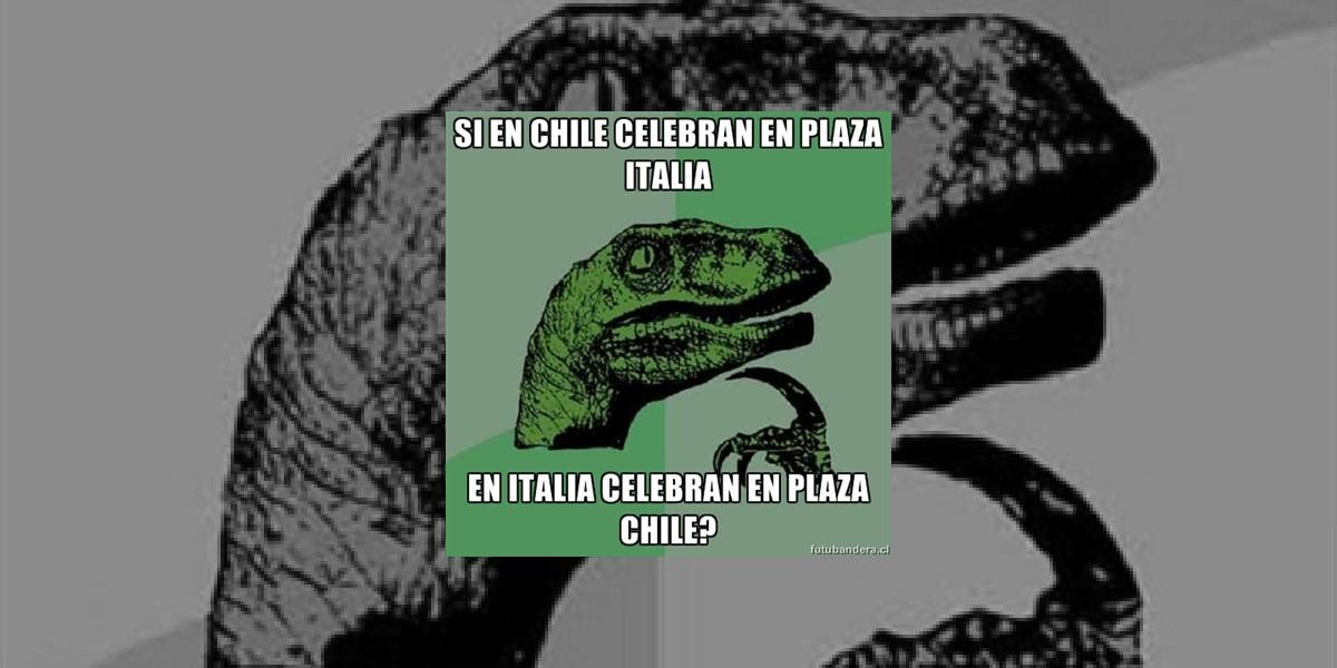 Si en Chile celebran en Plaza Italia...