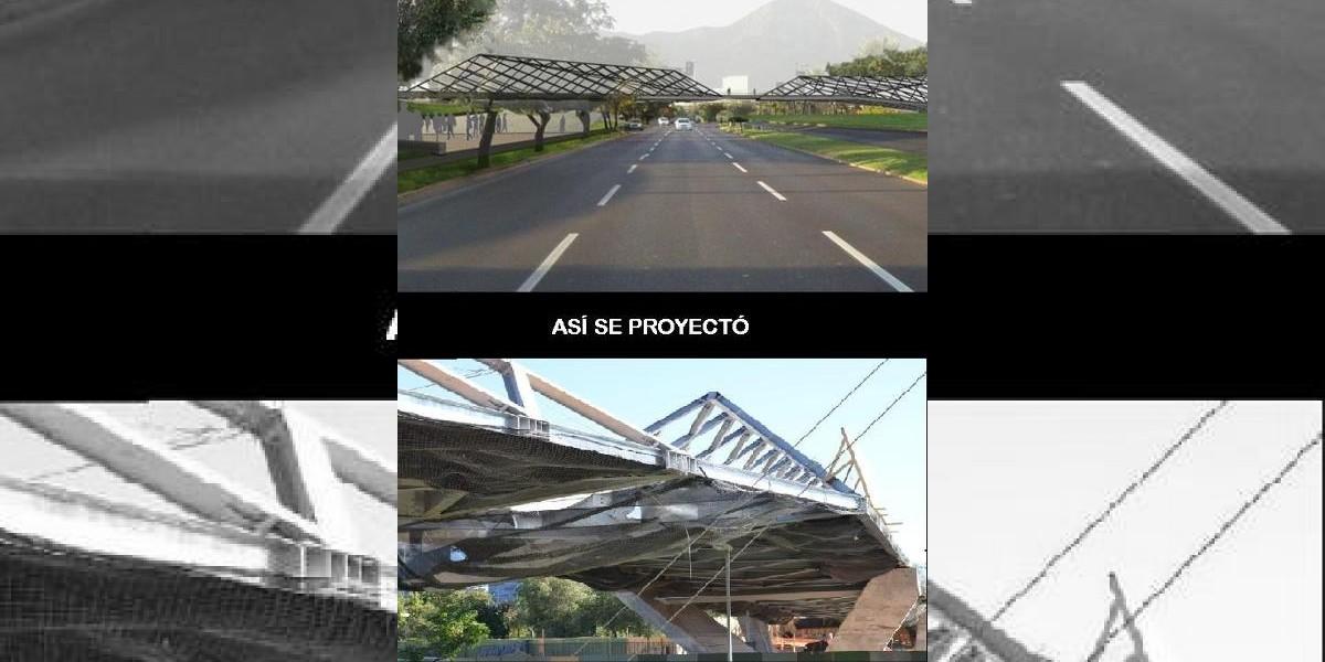 Pasarela de Las Condes: Así se proyecto y así quedó