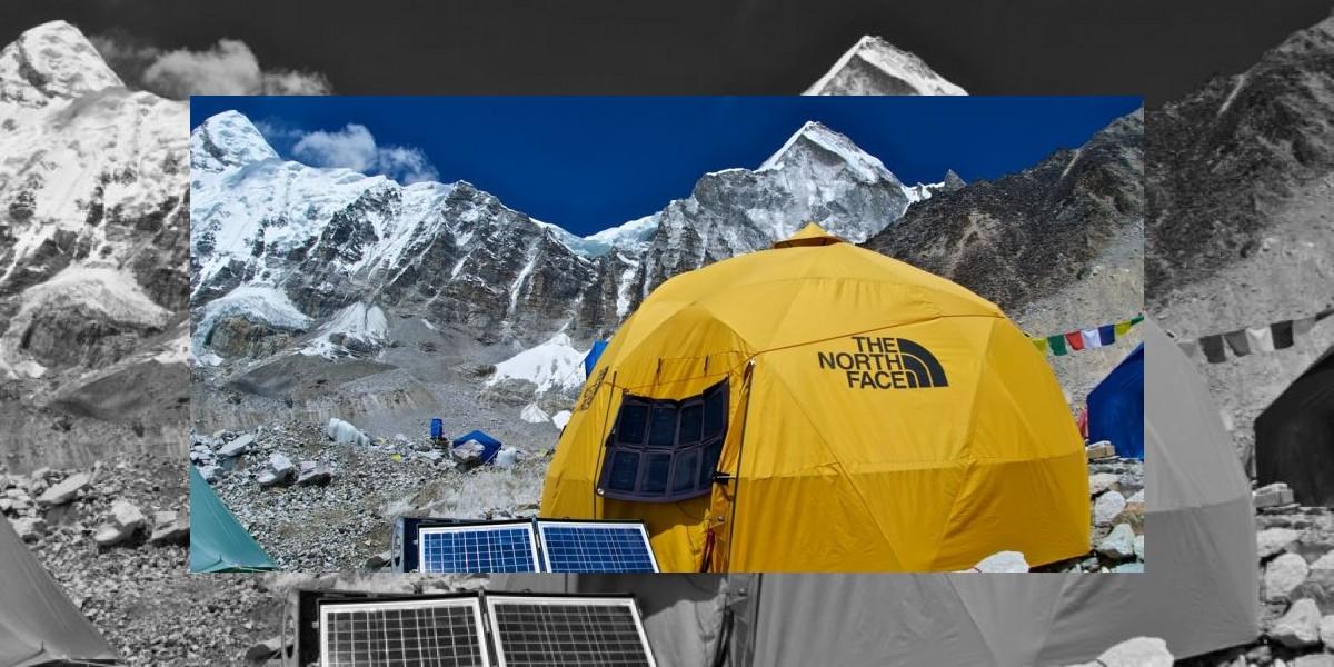 Expedición chilena en el Everest abastece de energía a un campamento completo
