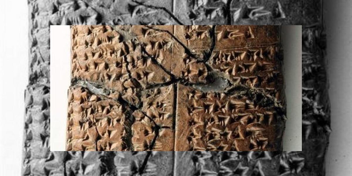Descubren pruebas de un idioma desconocido de hace 2.800 años