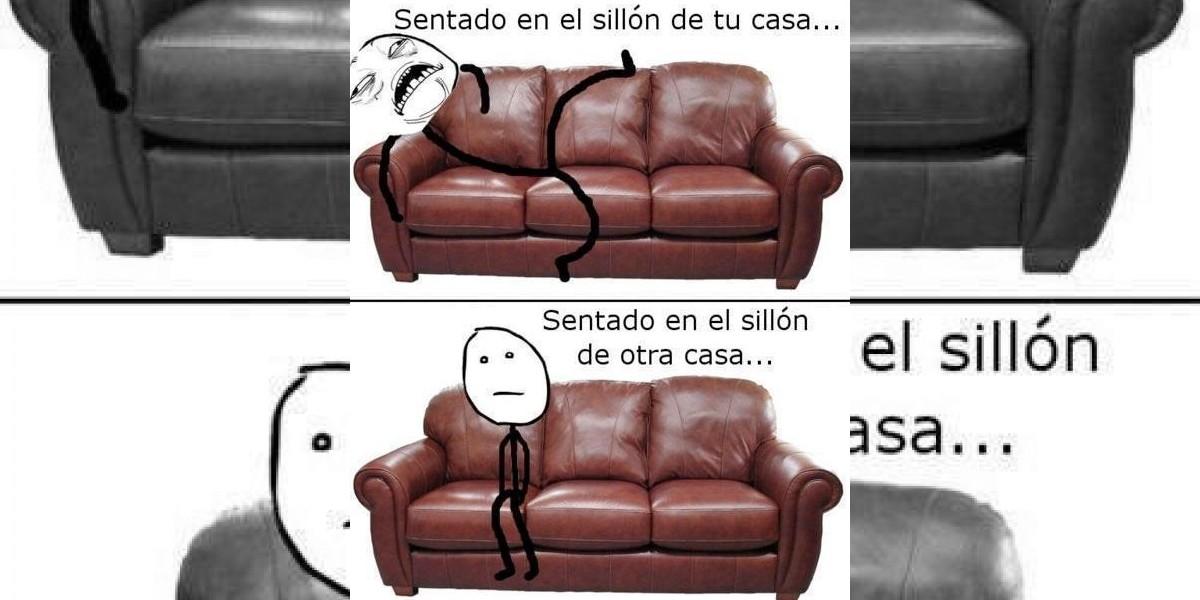 El sillón del descanso