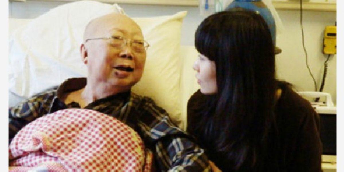 [FOTOS] De una insólita manera internautas cumplen sueño de un anciano