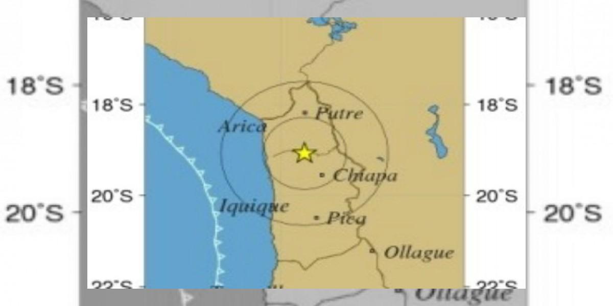 Sismo de 6.4 Richter se registra en las regiones de Arica Parinacota y Tarapacá