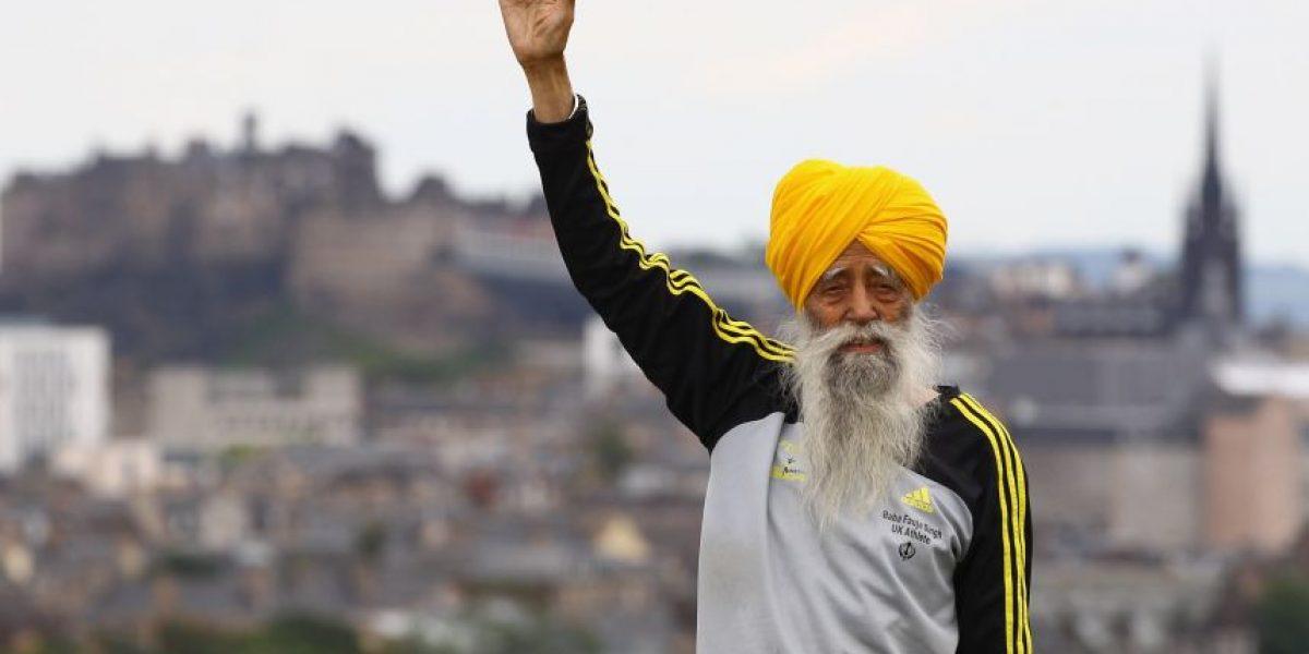 Anciano de 101 años correrá en la maratón de Edimburgo