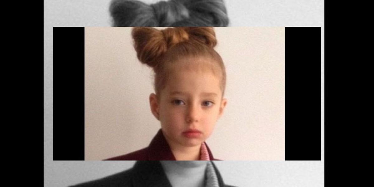 Colegio discriminó a niña de cuatro años por este look