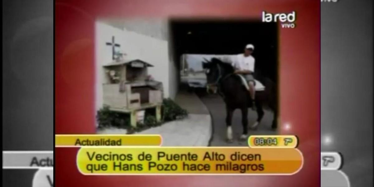 ¿Hans Pozo es milagroso? Vecinos peregrinan a sus animitas