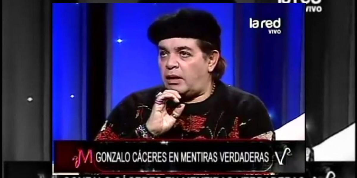 Gonzalo Cáceres desclasifica