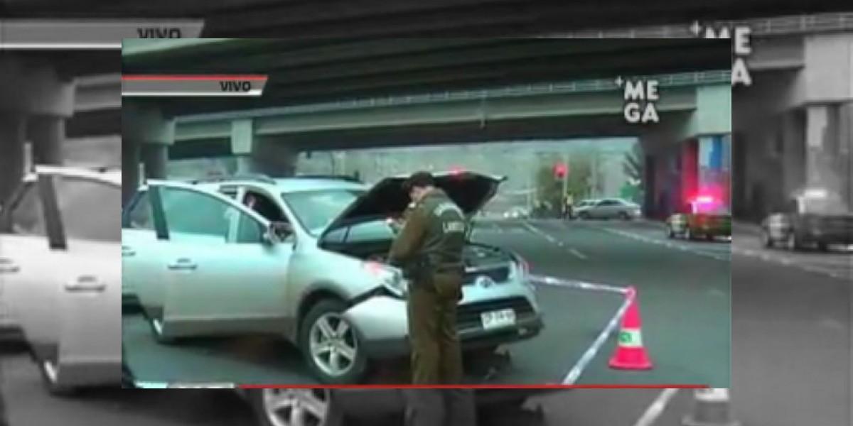 Robo de cajero automático termina con 4 detenidos, un lesionado y 2 accidentes