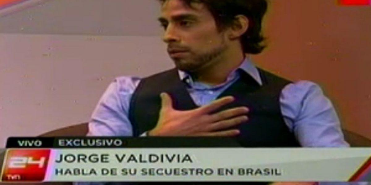 Jorge Valdivia relata su secuestro: