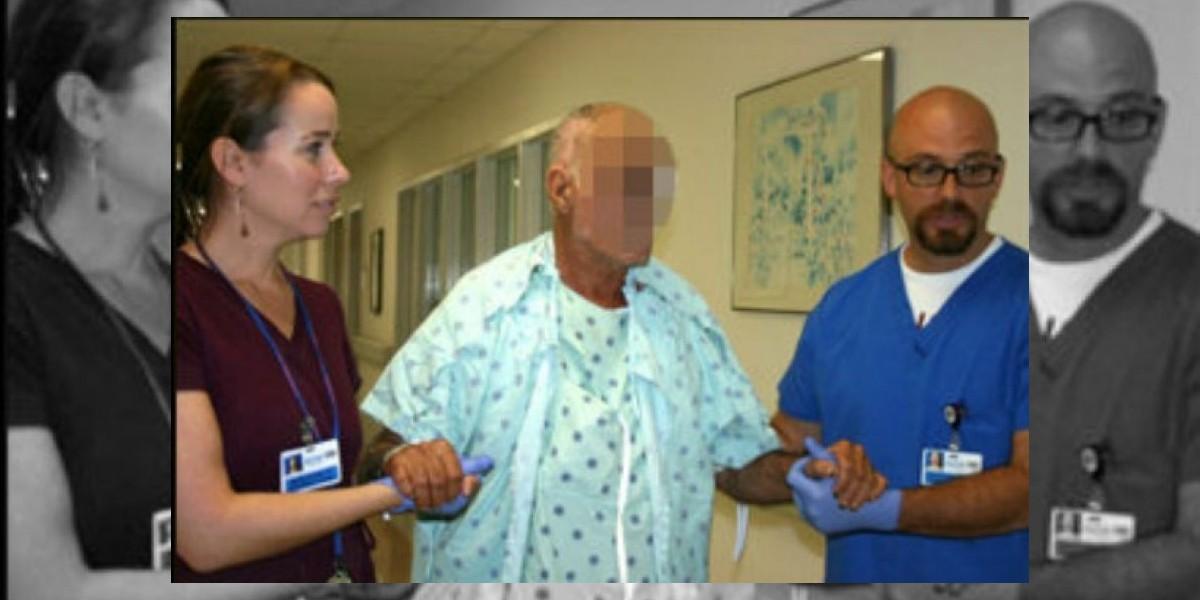Víctima del caníbal de Miami aparece por primera vez después del ataque
