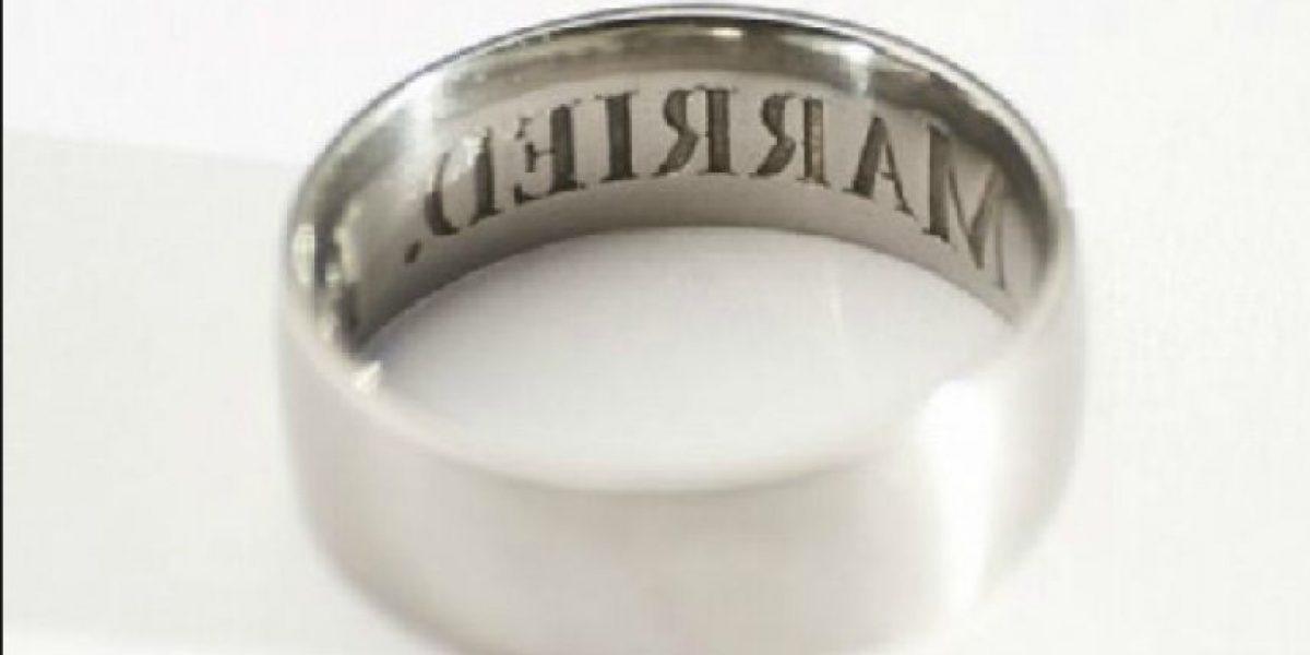 [FOTOS] Este ingenioso anillo asegura la fidelidad en el matrimonio