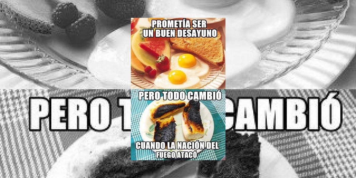 El desayuno que te gustaría versus el desayuno original
