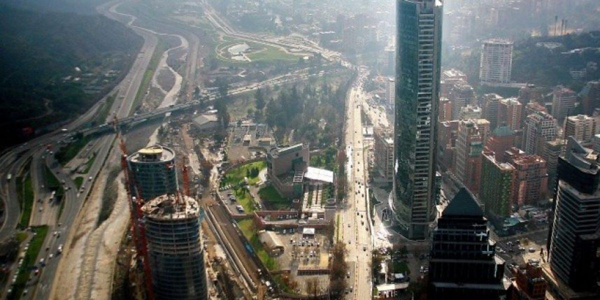 [FOTOS] Así se ve Santiago desde el Costanera Center
