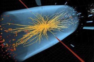 Foto:CERN // Colisión de hadrones en el detector CMS del LHC. Imagen Por: