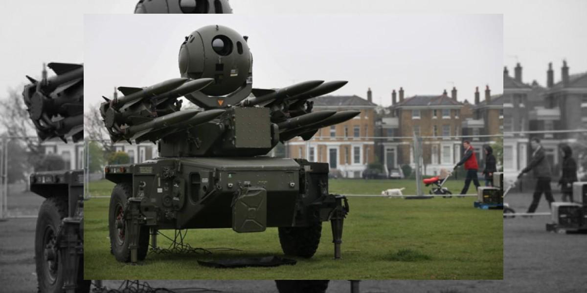 Londinenses están furiosos con los  misiles olímpicos