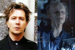 Gary Oldman como el desfigurado Mason Verger en la película Hannibal (2001). Imagen Por: