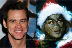 Jim Carrey como el Grinch (2000).. Imagen Por:
