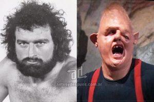 John Matuszak (1950–1989) como Sloth en la película Los Goonies (1985). Imagen Por: