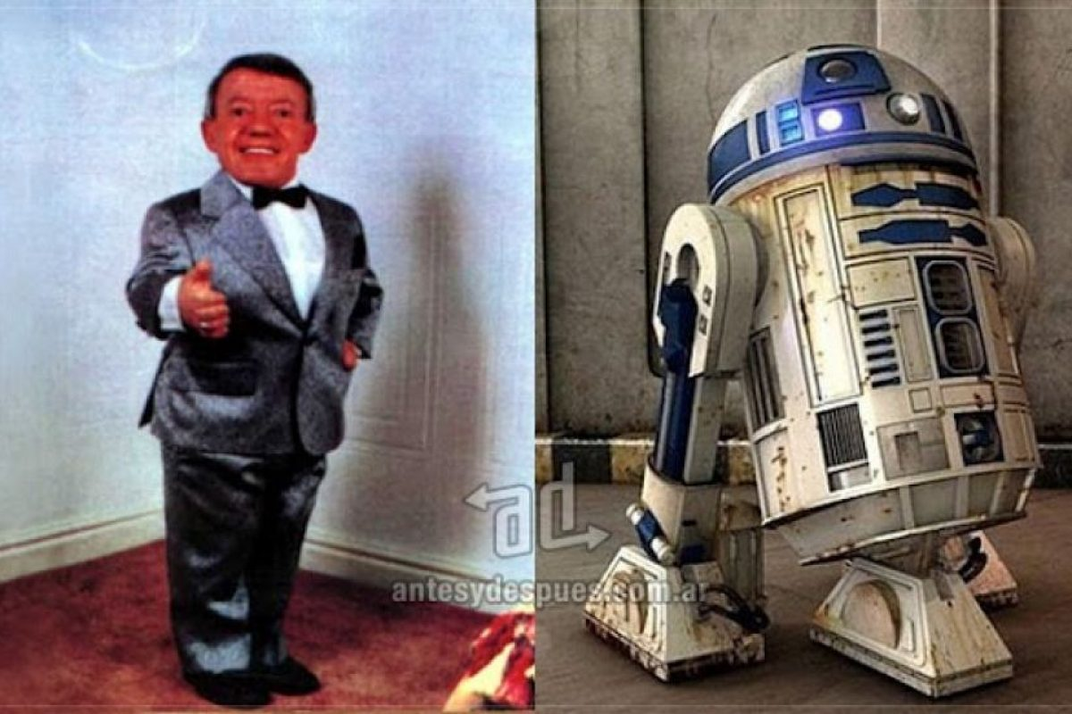 Kenny Baker como R2-D2. Imagen Por: