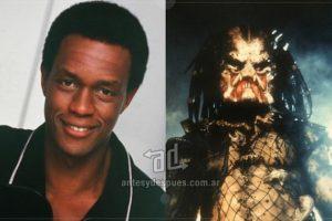 Kevin Peter Hall (1955-1991) es un actor y basquetbolista que encarnó al Depredador en las dos primeras películas de la saga. Imagen Por: