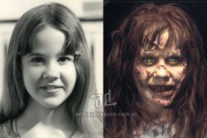 Linda Blair, con sólo 12 años de edad obtuvo el papel de Regan MacNeil en El Exorcista (1973). Imagen Por: