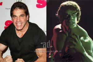 Lou Ferrigno como Hulk.. Imagen Por: