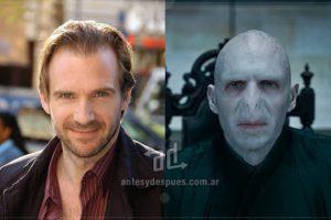 Ralph Fiennes como Lord Voldemort.. Imagen Por: