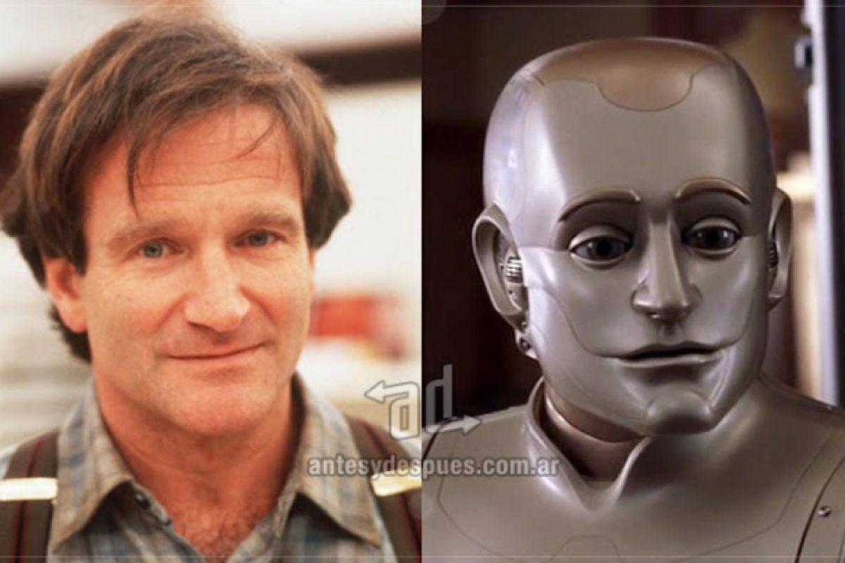 Robin Williams como el robot Andrew Martin. Imagen Por: