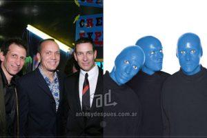 Blue Man Group es un grupo creativo de origen estadounidense. Imagen Por: